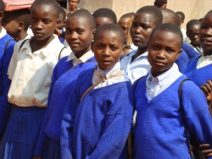 studenten in Biharamulo
